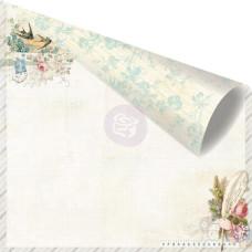 Двусторонняя бумага Delicate 30х30 см от компании Prima