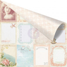 Двусторонняя бумага Delightful 30х30 см от компании Prima