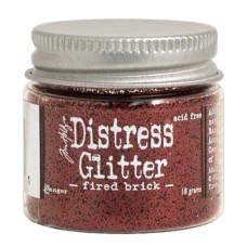 Глиттер Distress Glitter Fired Brick 18 г от компании Tim Holtz