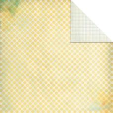 Двусторонняя бумага Half Penny 30х30 см от компании Basic Grey