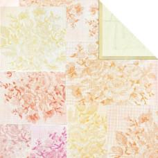 Двусторонняя бумага Summer Daisy 30х30 см от компании Basic Grey