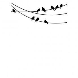 Папка для тиснения Birds On A Wire от Darice