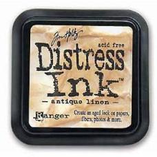 Краска для штампинга Distress Pad - Antique Linen от Tim Holtz
