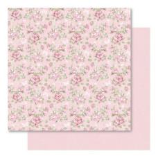 Двусторонняя перламутровая бумага Floral 30х30 см от Ruby Rock-It