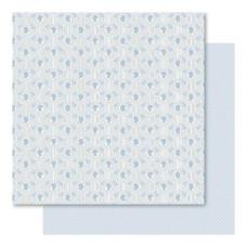 Двусторонняя перламутровая бумага Mr. & Mrs. 30х30 см от Ruby Rock-It