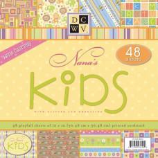 Набор бумаги Nana's Kids 30х30 см 24 листа от DCWV