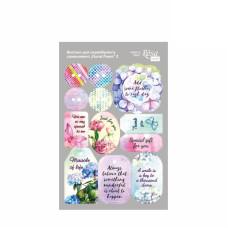 Высечки на клеевой основе Floral Poem 2 20х13 см Rosa