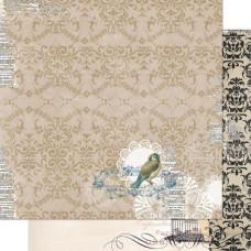 Двусторонняя бумага Antique 30х30 см от Bo-Bunny