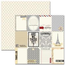 Двусторонняя бумага Notecards 30х30 см от Teresa Collins