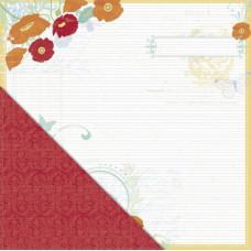 Двусторонняя бумага Garden Journal 30х30 см от Little Yellow Bicycle