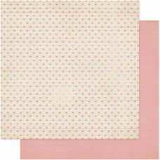 Двусторонняя бумага Lovey Dovey 30х30 см от Heidi Swapp