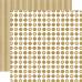 Двусторонняя бумага Tinsel Large Dot 30х30 см от Echo Park