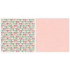 Двусторонняя бумага Merry & Bright 30х30 см от Echo Park