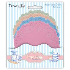 Набор салфеток Cupcake Boutique 4 шт от компании Dovecraft