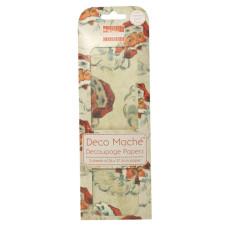Бумага для декупажа Deco Mache - Santa 26х37,5 см 3 листа от First Edition