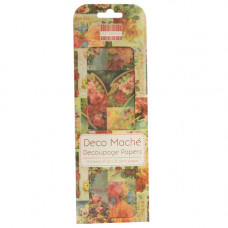 Бумага для декупажа Deco Mache - Vintage Roses 26х37,5 см 3 листа от First Edition
