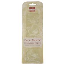 Бумага для декупажа Deco Mache - Sage Roses 26х37,5 см 3 листа от First Edition