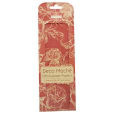 Бумага для декупажа Deco Mache - Red Roses 26х37,5 см 3 листа от First Edition