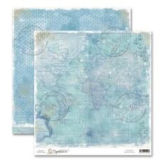 Двусторонняя бумага Mythical Ocean 30х30 см от Magnolia