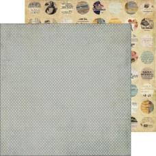 Двусторонняя бумага Reminder 30х30 см от Farm House