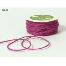 Джутовый шнур сиреневого цвета 90 см от May Arts