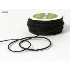 Джутовый шнур черного цвета 90 см от May Arts
