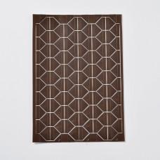 Набор уголков для фотографий, коричневый, размер уголка 12x15,5мм, ок, 102шт/лист