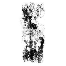 Прозрачный акриловый штамп Grunded - Texture, 5.5x13.5 см, Kaisercraft