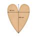 ART Board  артборд Сердце 19х25 см, Фабрика Декора