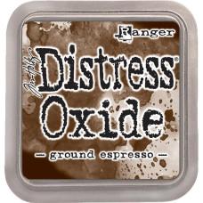 Подушечка с чернилами для штампинга Distress Oxides - Ground Espresso, Tim Holtz