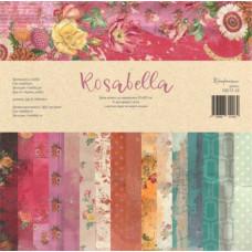 Набор бумаги для скрапбукинга, Rosabella, 30,5x30,5 см, 190 г/м2, Конфетти