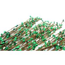 Весенняя веточка с почками, цвет зеленый, 6 веточек, длина 38 см