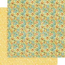 Двусторонняя скрапбумага Daffodil Dance - Fairie Wings, 30x30см, Graphic 45
