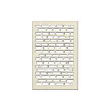 Набор чипбордов, Кирпичики 3, бежевый, 10x15 см, Фабрика Декора