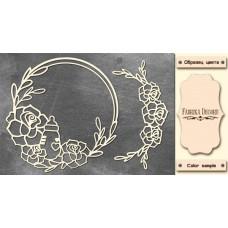 Набор чипбордов,ов Рамка для малышки 10х15 см #534 , цвет молочный, Фабрика Декора