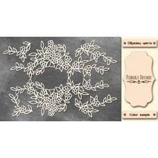 Набор чипбордов Незабудки 10х15 см #546 , цвет молочный, Фабрика Декора