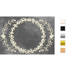 Набор чипбордов Рамочка из веточек 10х15 см #629, молочный, Фабрика Декора