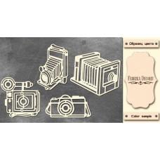 Набор чипбордов, Фотоаппараты #1 #669, 10х15 см, 1,3мм, Фабрика Декора