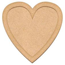 Артборд Сердце 29,5х30 см, Фабрика Декора