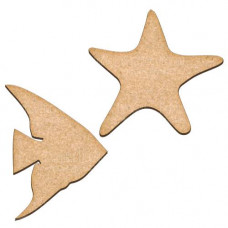 Артборды Рыба и морская звезда набор, Фабрика Декора