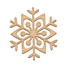 Артборд Снежинка 18х20 см, Фабрика Декора