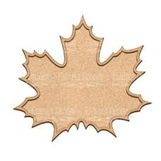 Артборд Кленовый лист 30х27 см, Фабрика Декора