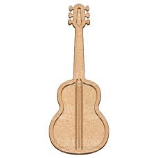 Артборд Гитара 14х35 см, Фабрика Декора