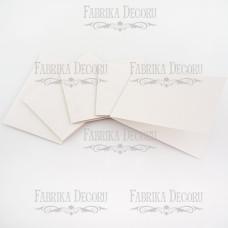 Набор заготовок для создания открыток, белый, 15х10 см, Фабрика Декора