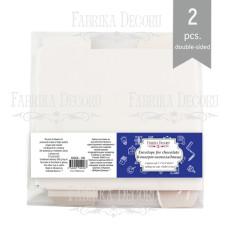 Конверт-шоколадница, белый, 300г/м2, 18х9х0,55 см, Фабрика Декора