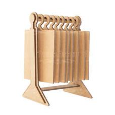 Альбом-гардероб, Мужской XL, 155х1205х225мм, Фабрика Декора