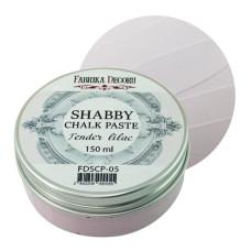 Меловая паста, Shabby Chalk Paste, Нежно-лиловая, 150 мл, Фабрика Декора