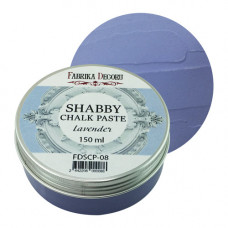 Меловая паста, Shabby Chalk Paste, Лаванда, 150 мл, Фабрика Декора