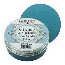 Меловая паста, Shabby Chalk Paste, Грозовое небо, 150 мл, Фабрика Декора