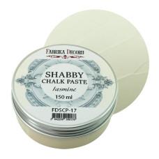 Меловая паста, Shabby Chalk Paste, Жасмин, 150 мл, Фабрика Декора